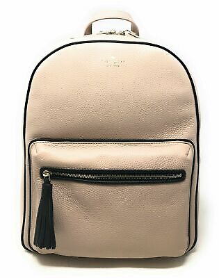 $ CDN195.05 • Buy Kate Spade Chester Street Aveline Large Pebbled Leather Backpack WKRU5122 $379