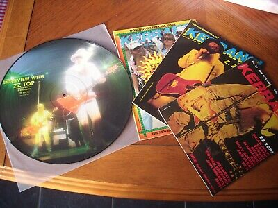 Zz Top 12  Interview Picture Disc Lp Vinyl Limited Edition • 25.99£