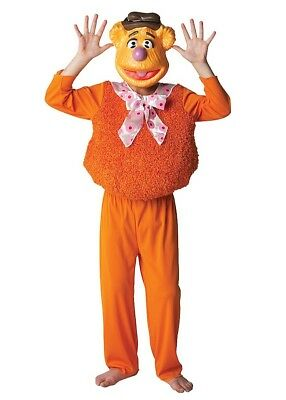 Fozzy Muppets Fancy Dress Costume Halloween/Book Week Ages 3 - 8 Yrs • 16.50£
