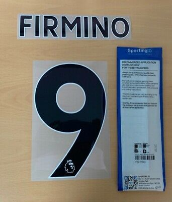$22.50 • Buy Sporting ID Official Liverpool Away,3RD Nameset Player Size FIRMINO 9 2017/18