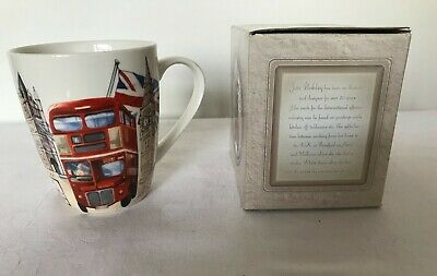 Jan Pashley London Icons Mug In Box Bone China Microwave Dishwasher Safe • 3.50£