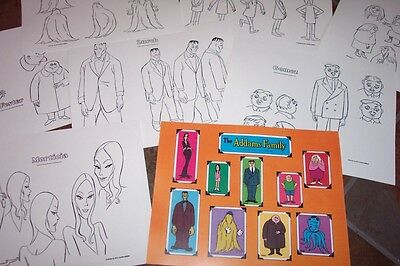 $ CDN30.44 • Buy ADDAMS FAMILY ANIMATORS' MODEL SHEETS HANNA BARBERA Art Reference Guide