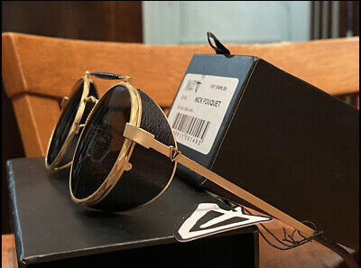 AU240 • Buy VALLEY Sunglasses- Nick Fouquet 24 Carat Brushed Gold- Unwanted Gift Brand NEW