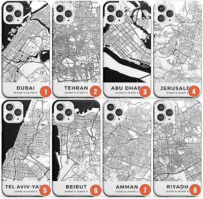 World Maps: Middle East Slim Phone Case For IPhone | Travel Wanderlust Europe Ci • 8.95£