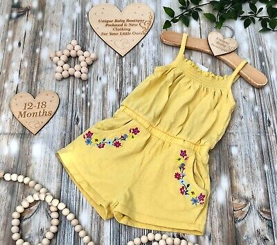🌸12-18 Months Baby Girls Huge Selection Clothes Multi Listing  Make A Bundle🌸 • 3.50£
