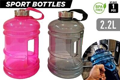 AU14.99 • Buy 2.2 L Water Drink Bottle With Handle Kettle BPA Free Bicycle Sports Gym Workout