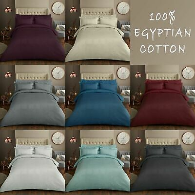 £48.59 • Buy 600TCEgyptianCotton Fitted/Flat Sheet/Duvet King/Emperor/SuperKing Solid Color