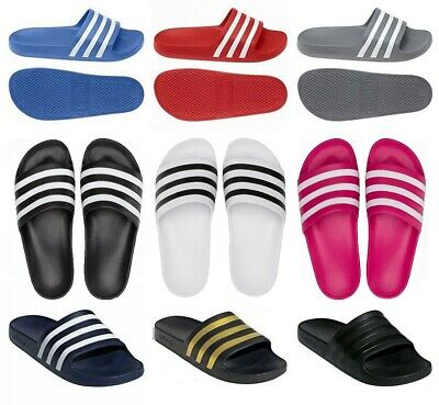 AU32.07 • Buy Adidas Slides Mens Womans Sliders Adilette Slip On Flip Flops Sandals Beach Pool
