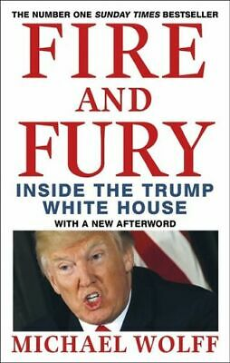 AU24.80 • Buy NEW Fire And Fury By Michael Wolff Paperback Free Shipping