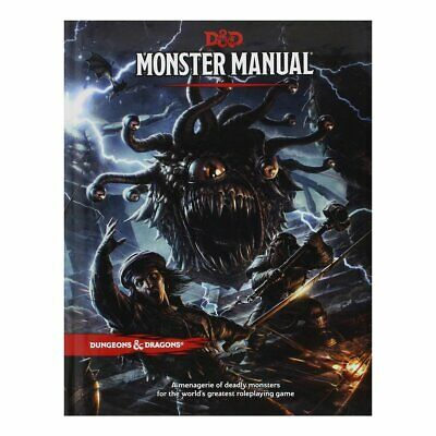 AU54 • Buy D&D Dungeons & Dragons Monster Manual 5th Edition By Wizard RPG Team
