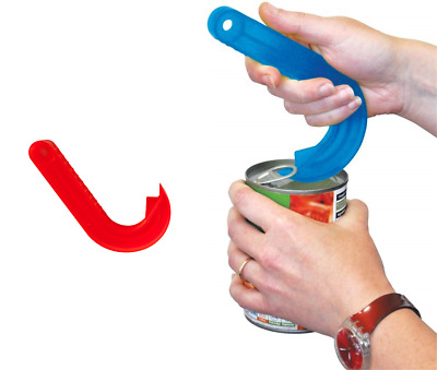 Kitchen Easy Ring Pull Can Jar Tin Opener Puller Plastic Grip Disability Aid  • 2.99£