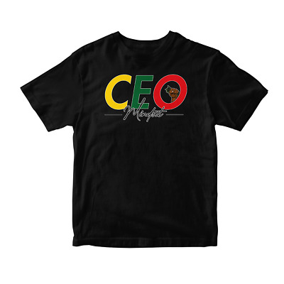 $25.99 • Buy CEO Mindset Black History Month Graphic T-Shirt All Sizes 100% Cotton Pro Club