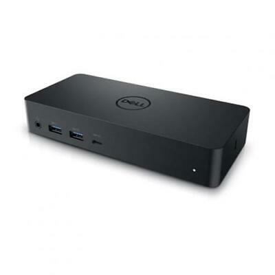 AU263.49 • Buy Dell D6000 USB 3.0 Dual 4K Docking Station W/130w Adapter, Support 65w Power