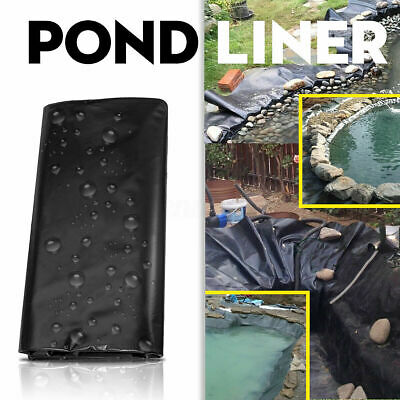 Garden Fish Pond Liners Liner Pool Membrane Reinforced Landscaping All Sizes • 13.99£