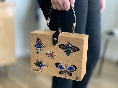 $45 • Buy Vintage The Original Box Bag By Collins Of Texas | Glitterbugs
