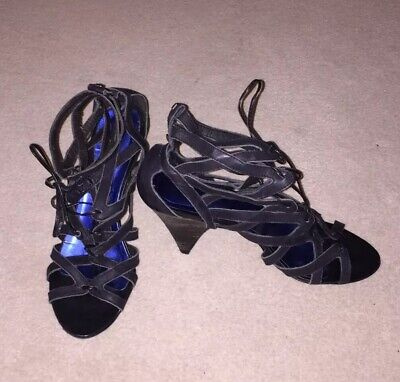 £10 • Buy River Island Caged Sandal Size 7