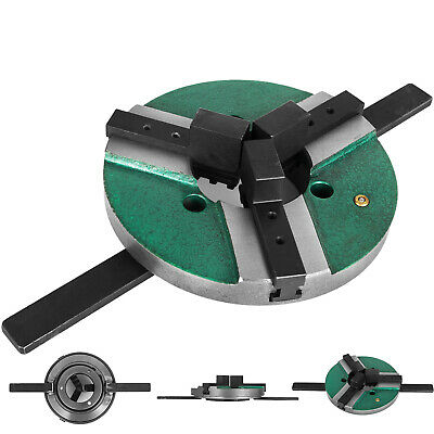AU129.99 • Buy 8  3 Jaw Table Chuck WP-200 200mm Self-Centering Reversible Welding Lathe Chuck