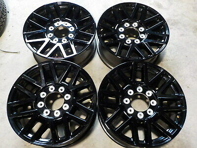 $700 • Buy 4- 2019 Ford F250 Factory 20  Black Wheels 05 - 20 F350 Super Duty OE 24C
