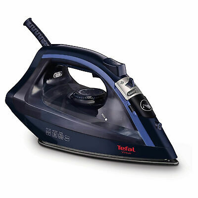 View Details Tefal Virtuo FV1713 Steam Iron 2000W Non-Stick Anti-Scale 2 Year Guarantee • 21.90£