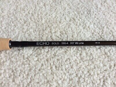 $130 • Buy Brand New, Never Used Echo Solo Fly Rod. Four Piece Travel Design