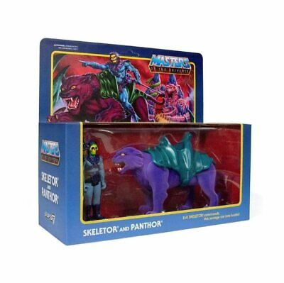 $59.99 • Buy SUPER7 Skeletor & Panthor Masters Of The Universe ReAction Figures NEW