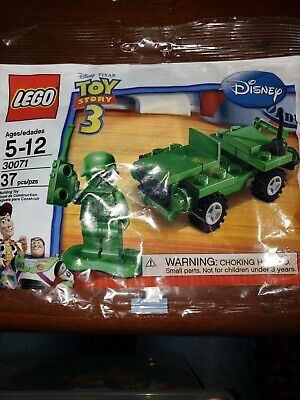 LEGO 30071 Toy Story Army Man Jeep Polybag MISB Sealed Buy 6=Free Shipping! • 8£