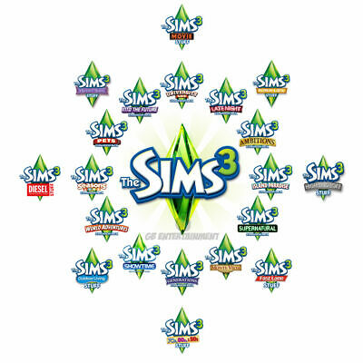 The Sims 3 Expansions And Stuff Packs Pc And Mac Origin Keys • 5.75£