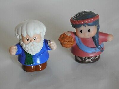 Fisher Price Little People Noah & His Wife Figures  • 2.95£