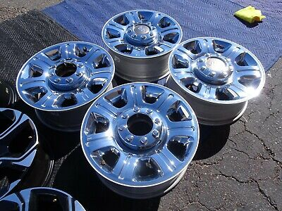 $699 • Buy 2011 To 2016 FORD F250 F350 OEM FACTORY 20  WHEELS RIMS CHROME CLAD 8X170