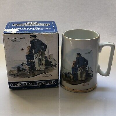 $ CDN23.71 • Buy Norman Rockwell Seafarers Collection LJS Collab  Looking Out To Sea  Tankard Mug
