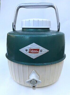 $25 • Buy Vintage Coleman Water Jug Cooler 1960's Diamond Logo