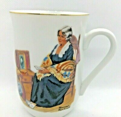 $ CDN19.75 • Buy Mugs Cup England Norman Rockwell Museum Authentic Mark Memories Bl