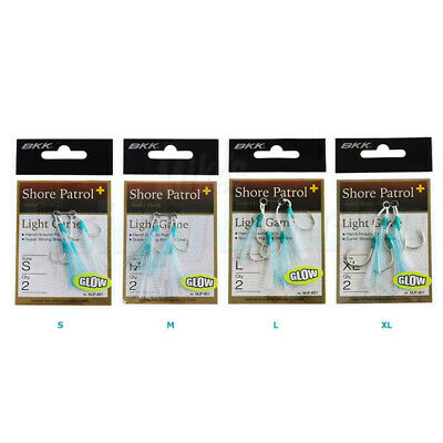 AU10.90 • Buy BKK Shore Patrol Plus Jigging Assist Hooks Light Game