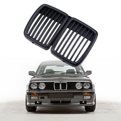$43.99 • Buy Matte Black Front Bumper Hood Grille Grill For 82-94 BMW E30 318i 325i 325 325xi