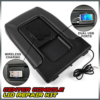 $58.69 • Buy USB Port Wireless Charger Center Console For 01-07 Chevy Silverado GMC Chevrolet