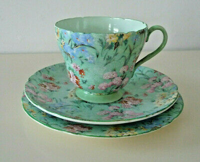 Shelley   Melody Tea Cup/saucer/plate Set. Collect Ws13 • 45£