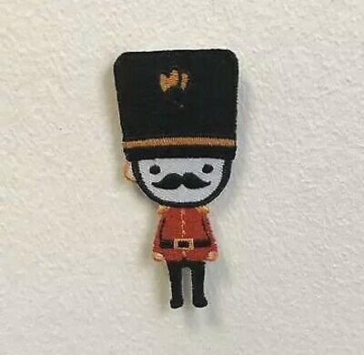 £1.90 • Buy Royal Guard London Moustache Badge Clothes Iron On Sew On Embroidered Patch