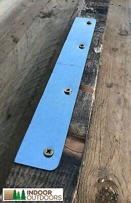 4 X Multi-Purpose Fence Post Corner Support Brackets Ideal For Repair Or Project • 3.95£