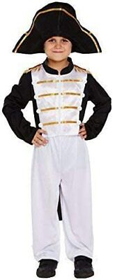 Boys Kids Napoleon Fancy Dress Costume 7-9 Years French Military Includes Hat  • 7£