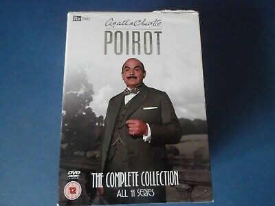 £40 • Buy Poirot - Complete Collection (DVD, 2009, 28-Disc Set, Box Set)