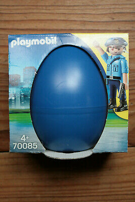 Playmobil Egg Of Easter Surprise City Action Police Officer With Dog 70085 • 11.87£