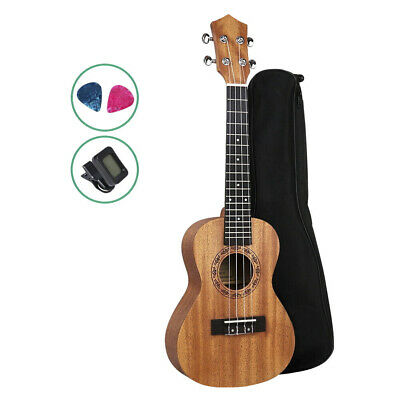 AU59.95 • Buy 23  Concert Ukulele Mahogany Ukelele Uke Hawaii Guitar Carry Bag Tuner Picks