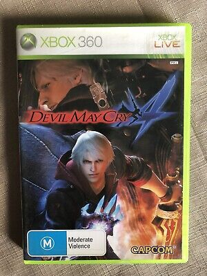 AU6 • Buy Devil May Cry 4 : Xbox 360 : Complete W/ Manual - Aus Pal. Free Post!
