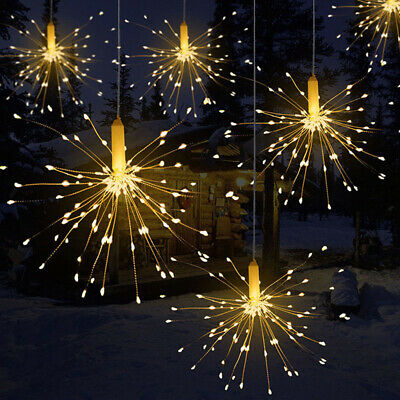 $10.71 • Buy Fire-work Copper Wire Strip Lamp LED Strings Fairy Light Home Room Wedding Decor
