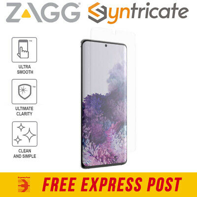 AU39.95 • Buy Samsung Galaxy S20 Plus (6.7 ) ZAGG  InvisibleShield Clear+Screen Protector