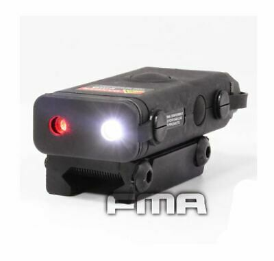 Softair An/Peq-10 Red Laser Light Led Torch Flashlight Ris 20Mm Rail Black Uk • 28.95£