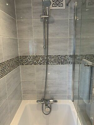 Grohe Thermostatic Bath Shower Mixer Grohtherm 1000 • 100£