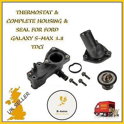 £18.99 • Buy FORD FOCUS TRANSIT CONNECT GALAXY MONDEO 1.8 TDCi THERMOSTAT HOUSING COMPLETE