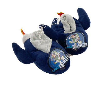 £5.88 • Buy Toy Story 3 Slippers Boys Small Toddler 5-6 House Shoes Space Ranger