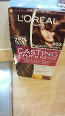 L'OREAL CASTING CREME GLOSS  Semi Permanent  Honey Chocolate • 2£